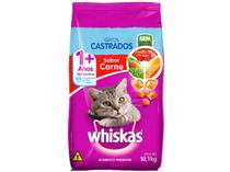 Ração para Gato Premium Whiskas Carne Adulto  - 10,1kg