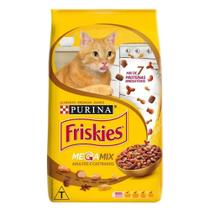 Ração para Gatos Friskies Megamix Adultos e Castrados 1Kg -