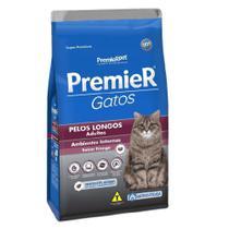 Ração Para Gatos Premier Adulto Pelos Longos Frango 7,5kg - Premierpet -
