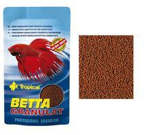 Ração Para Peixe Betta Granulat Sachet 5g Tropical - Agro Aves