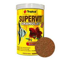 Ração Para Peixes De Aquário Tropical Supervit Granulat 550g -
