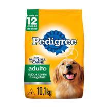 Ração Pedigree Cães Adultos Sabor Carne e Vegetais - 10,1Kg -