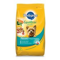 Ração Pedigree Equilíbrio Natural para Cães Adultos de Raças Pequenas - 3 Kg -