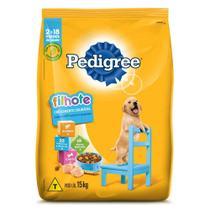 Ração Pedigree Para Cães Filhotes Raças Médias e Grandes 15 kg -