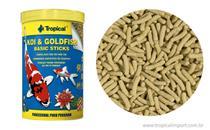 Ração Peixes Koi  Goldfish Basic Sticks-Bag 90g tropical -