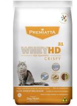 Ração Premiata Whey Hd 31 Crispy Gatos - 3kg - Agropet Nutrimed