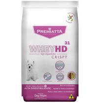Ração Premiatta Whey HD 31 Crispy para Cães Adultos de Raças Pequenas 6kg - Agro Aves