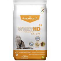 Ração Premiatta Whey HD 31 Crispy para Gatos Castrados de todas as raças e idades (3 kg=60x50g) - Gran Premiatta