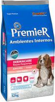Ração Premier Ambientes Internos Dermacare de Salmão para Cães Adultos de Raças Pequenas - Premier Pet