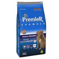 Ração Premier Fórmula para Cães Adultos de Raças Grandes 20kg -