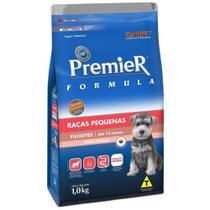 Ração Premier Fórmula Para Cães Filhotes Raças Pequenas Sabor Frango - Premier Pet -