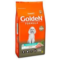 Ração Premier Golden Formula Mini Bits Cães Adultos Pequeno Porte Frango e Arroz 15kg -