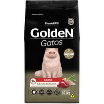 Ração Premier Golden Gatos Adultos Sabor Carne 10,1kg -