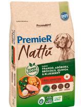 Ração PremieR Nattú Abóbora para Cães Adultos 12Kg -