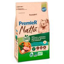 Ração Premier Nattu para Cães Adultos de Pequeno Porte Sabor Abóbora -
