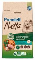 Ração Premier Nattu para Cães Adultos de Porte Pequeno Sabor Abóbora 10,1 Kg -