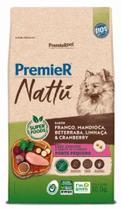 Ração Premier Nattu para Cães Adultos de Porte Pequeno Sabor Mandioca 10,1 Kg -