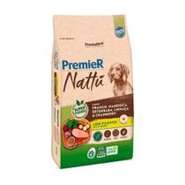 Ração Premier Nattu para Cães Filhotes Sabor Mandioca 10kg - Premier Pet  Premier Nattu