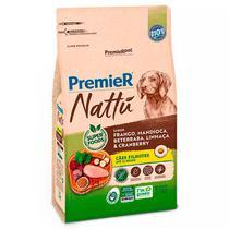 Ração Premier Nattu para Cães Filhotes Sabor Mandioca -