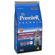 Ração premier para cães adultos raças pequenas de frango 20kg - Premier pet -