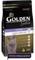Ração Premier Pet Golden de Salmão para Gatos Adultos -