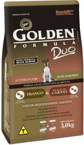 Ração Premier Pet Golden Duo Formula de Frango e Carne para Cães Adultos de Raças Pequenas -