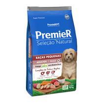 Ração Premier Pet Seleção Natural Sabor Frango Korin com Batata Doce para Cães Adultos de Raças Pequenas -