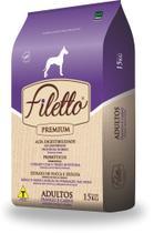 Ração Premium Filetto Adulto Raças Grandes 25KG -