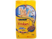 Ração Premium para Gato Friskies  - Adulto Peixes e Frutos do Mar 3kg
