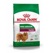 Ração Royal Canin Mini Indoor Ageing 12+ para Cães Idosos de Raças Pequenas mais de 12 Anos -