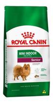 Ração Royal Canin Mini Indoor Cães Senior - 1kg - Agropet Nutrimed