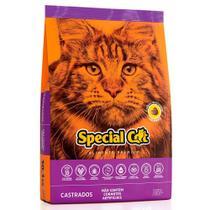 Ração Special Cat Premium Para Gatos Castrados - Special Dog - Contém Carinho