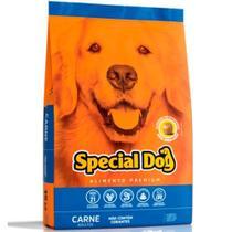 Ração Special Dog  Cães Adultos Sabor Carne -