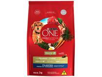 Ração Super Premium para Cachorro Purina One - Frango e Carne Filhote 2kg