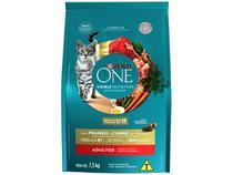 Ração Super Premium para Gato Purina One - Frango e Carne Adulto 7,5Kg