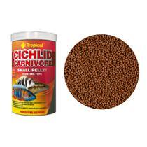 Ração Tropical Cichlid Carnivore Small Pellet Pote 90g -