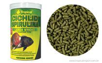 Ração Tropical Cichlid Spirulina Large Sticks - 300g -