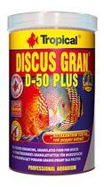 Ração Tropical Discus Gran D-50 Plus 440G Peixes Tropicais -