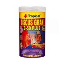 Ração Tropical Discus Gran D50 Plus Pote 110g -