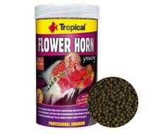 Ração Tropical Flower Horn Young Pellet para Peixes 95g -