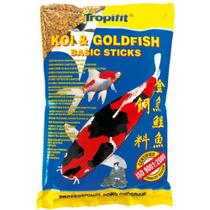 Ração Tropical Koi  GoldFish Basic Sticks 90g -
