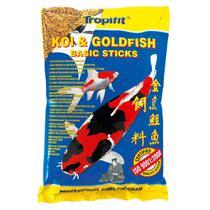 Ração Tropical Koi & Goldfish Basic Sticks para Peixes 90g -