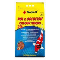 Ração Tropical Koi-Goldfish Colour Sticks Bag 1,6Kg -