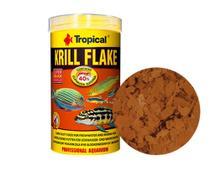 Ração Tropical Krill Flakes 20g Peixes Marinhos e Água Doce -