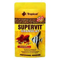 Ração Tropical Peixes Supervit Granulado - 10g -
