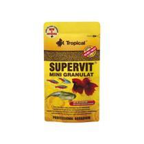 Ração Tropical Supervit Mini Granulat Sachê 10g -