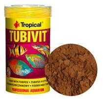 Ração Tropical Tubivit 20g com Larvas Tubifex para Peixes -