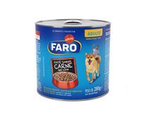 Ração Úmida Faro para Cães Adultos Sabor Carne 280g -