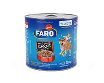 Ração Úmida Faro para Cães Filhotes Sabor Carne 280g -