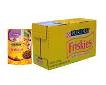 Ração Úmida Friskies Sachê Gatos Adulto - Cordeiro ao Molho - 15 Unids - Nestlé Purina